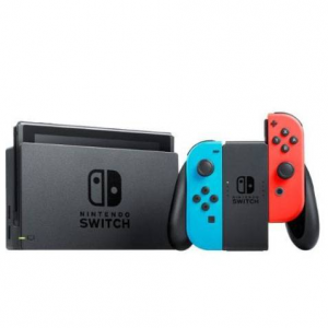 MassGenie Again - Nintendo Switch with Neon Blue/Red Joy-Con and $35 Dollar e-Shop Credit