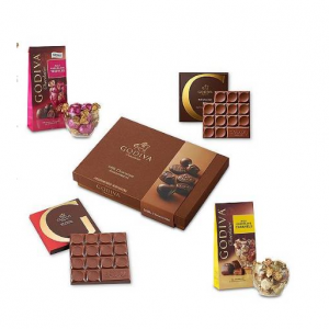 Godiva Chocolatier Milk Chocolate Variety Gift
