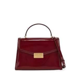 Tory Burch Juliette Patent Top Handle Satchel Bag
