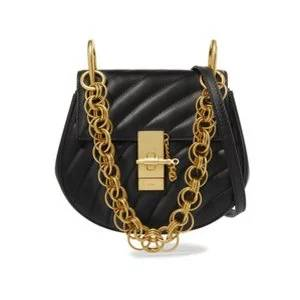 CHLOÉ Drew Bijou mini quilted leather shoulder bag