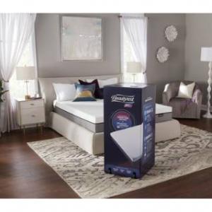 "Simmons Beautyrest ST 10"" Full Memory Foam Mattress-In-A-Box W/ Sleep Tracker"