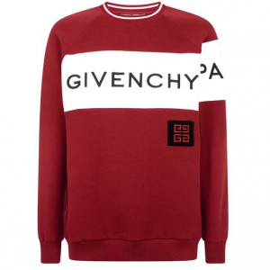 Givenchy Logo Stripe Sweatshirt