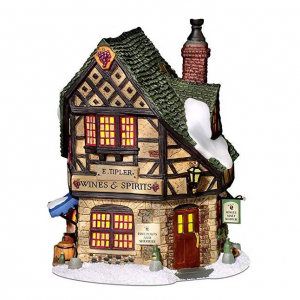 Department 56 Dickens' Village E Tipler Agent Wine Spirits Building