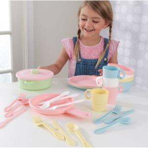 KidKraft 27-Piece Pastel Cookware Playset @ Walmart