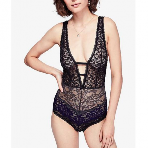 Free People Not Yours Lace Bodysuit