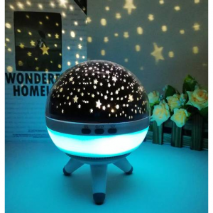 Coversage Rotating Night Light Projector Spin Starry Sky Star Master Children Kids Baby Sleep Roma