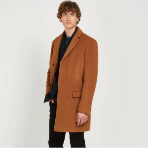 The Lawrence Recycled-Wool-Blend Topcoat - Camel