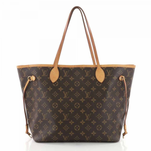 LOUIS VUITTON Pre Owned Neverfull NM Tote Monogram Canvas MM