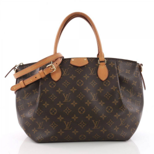 LOUIS VUITTON Pre Owned Turenne Handbag Monogram Canvas MM
