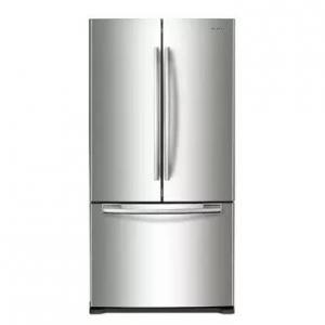 Samsung  RF18HFENBSR 33 Inch Counter Depth French Door Refrigerator