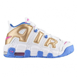 NIKE AIR MORE UPTEMPO - GIRLS' GRADE SCHOOL