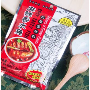 AH HUNG Spicy Tasty Fish 200g