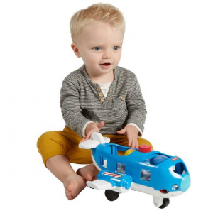 Fisher-Price 작은 사람들이 함께 비행기 여행