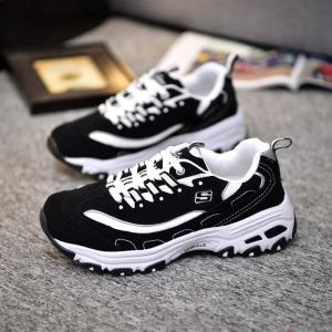 $34.93 off Skechers Women's D'Lites Memory Foam Lace-up Sneaker @ Amazon