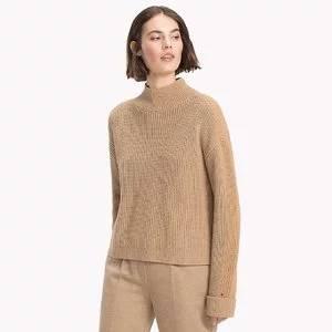 Tommy Hilfiger Mockneck Colorblock Sweater