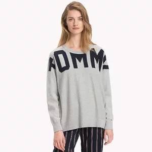 Tommy Hilfiger Oversized Logo Sweater