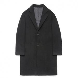 Wool Single Coat_Black