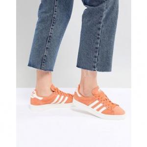 adidas Originals Campus Trainers In Orange