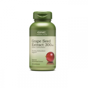 GNC HERBAL PLUS® GRAPE SEED EXTRACT 300MG 100 Capsules