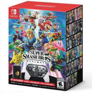 Back ! Super Smash Bros. Ultimate Special Edition, Nintendo, Nintendo Switch @ Walmart