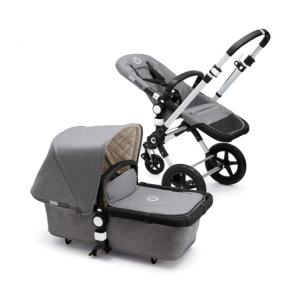 Bugaboo Cameleon3 Classic Complete Stroller, Grey Mélange - Versatile, Foldable Mid-Size Stroller