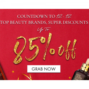 Up To 85% Off Beauty (SK-II, La Mer, Estee Lauder, Dior & More) + Up To Extra $15 Off @ Cosme-De