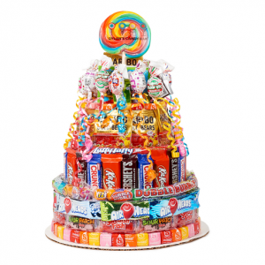 DYLAN'S CANDY BAR 3-TIER CANDY CAKE