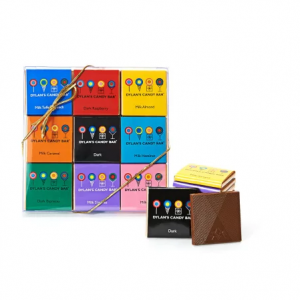 DYLAN'S CANDY BAR ASSORTED 18 PACK OF CHOCOLATE SQUARES