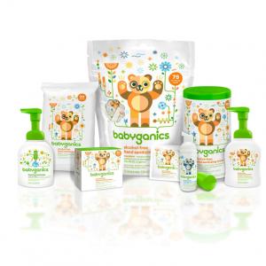 Extra 40% off + FS on Babyganics Products @ Amazon