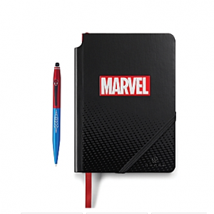 Cross Marvel Tech2 and Journal Gift Set featuring Spider-Man