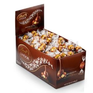 Hazelnut LINDOR Truffles 120-pc Box