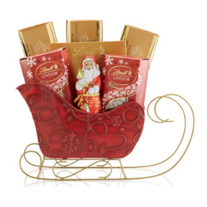 Holiday Sleigh Gift Basket