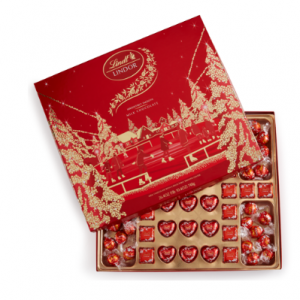 Milk Chocolate LINDOR Elegance Boxed Chocolate (64-pc)