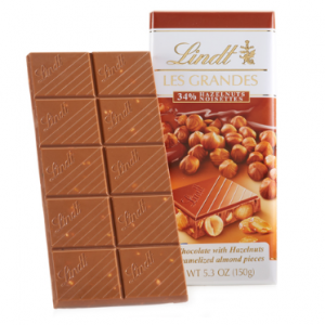 Milk Hazelnut Les Grandes Bar