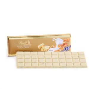 大板 瑞士杏仁白巧克力金条