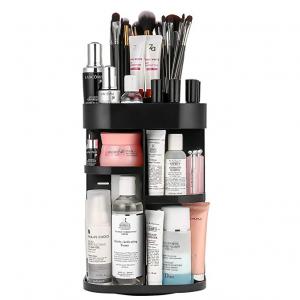 $15.19 Jerrybox Makeup Organizer Adjustable Makeup Organizer Shelf @ Amazon