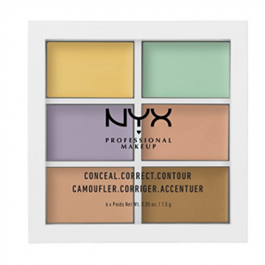 NYX Professional Makeup Color Correcting Concealer Pallete