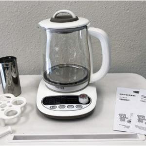 SONYA Multi Function Glass Electric Water Kettle Healthy Tea Kettle 1.8L SY-B18