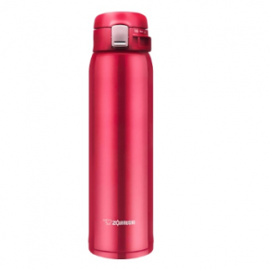 ZOJIRUSHI One Touch Stainless Steel Vacuum Thermal Bottle Glossy Red 600ml SM-SD60RC