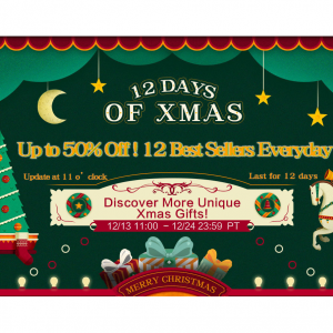 Up to 50% off flash sale + 12% off pagewide Yamibuy 12 Days of Xmas