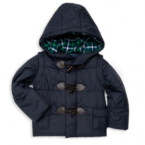 Andy & Evan Little Girl's Convertible Puffer Jacket