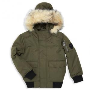 Pajar Canada Boy's Lucas Faux Fur Trimmed Bomber Jacket