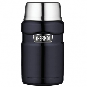 $18.99 Thermos Stainless King 24 Ounce Food Jar, Midnight Blue @ 	Amazon