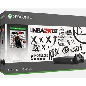 Xbox One X 1TB Console – NBA 2K19 Bundle