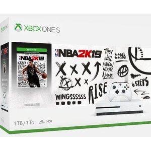 Xbox One S 1TB Console – NBA 2K19 Bundle