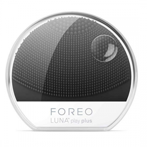 FOREO LUNA play plus: Portable Facial Cleansing Brush, Midnight