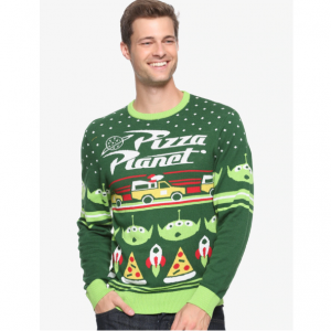 Disney Pixar Toy Story Pizza Planet Holiday Sweater