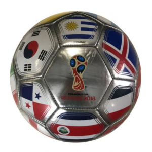Icon Sports Group 2018 FIFA World Cup Russia Platinum Flag Soccer Ball