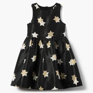 Star Jacquard Dress