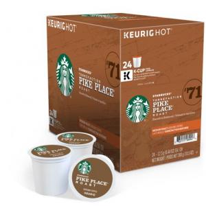 STARBUCKS® Pike Place® Roast Coffee 24 count